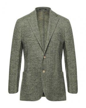 Пиджак CANTARELLI. Цвет: зеленый-милитари
