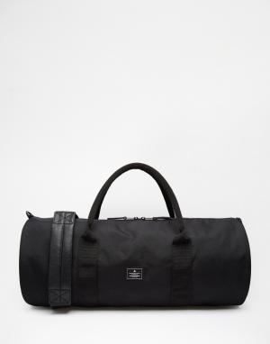 Черная сумка ASOS DESIGN. Цвет: черный