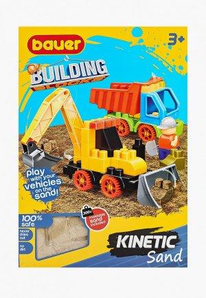 Конструктор Bauer Building Kinetic, набор с трактором и грузовиком. Цвет: разноцветный