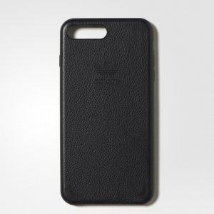 Чехол для смартфона Leather iPhone Originals adidas. Цвет: черный