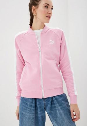 Олимпийка PUMA Classics T7 Track Jacket, FT. Цвет: розовый