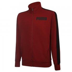 Олимпийка Contrast Track Jacket FT M PUMA. Цвет: красный
