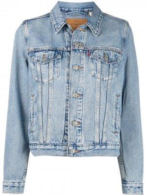 Levis джинсовая куртка Levi's. Цвет: синий