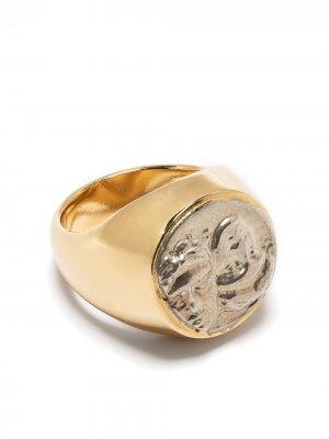 Перстень Istros VICTORIA STRIGINI. Цвет: золотистый