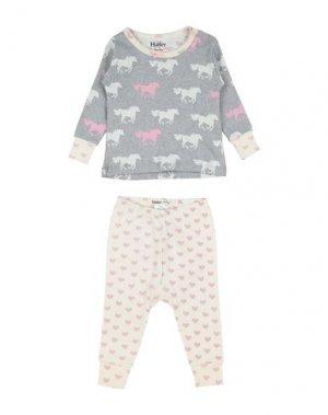 Пижама HATLEY. Цвет: серый