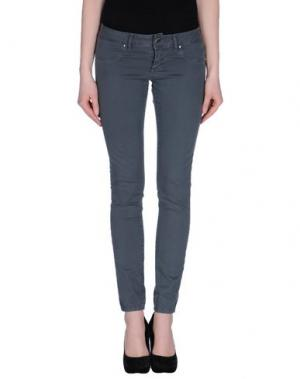 Повседневные брюки FLY GIRL. Цвет: серый