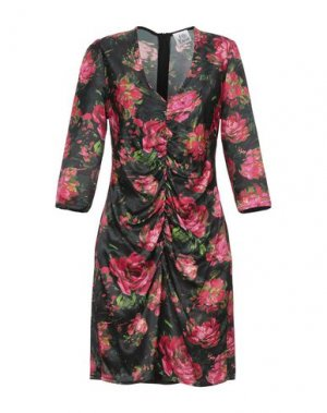 Короткое платье ATTIC AND BARN. Цвет: черный