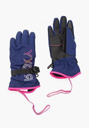 Перчатки Roxy FRESHFIELD GIRL G GLOV. Цвет: синий