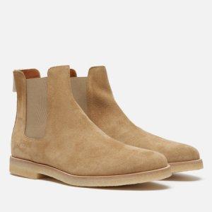 Мужские ботинки Chelsea Suede Common Projects. Цвет: бежевый