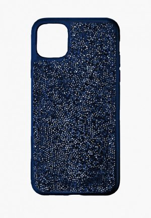 Чехол для iPhone Swarovski® 12 mini Glam Rock. Цвет: синий