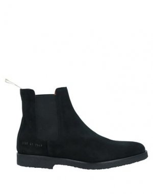Полусапоги и высокие ботинки COMMON PROJECTS. Цвет: черный