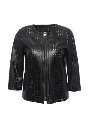 Куртка кожаная Liu Jo LI687EWOTC50. Цвет: черный