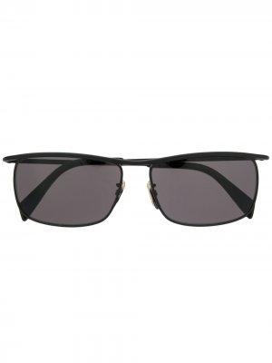 Солнцезащитные очки с затемненными линзами Celine Eyewear. Цвет: черный