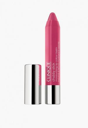 Бальзам для губ Clinique ChubStick Moisturizing Lip Colour Balm, 14 Curvy Candy, 3 гр.. Цвет: розовый