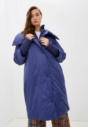 Куртка утепленная Max&Co DIANA. Цвет: синий