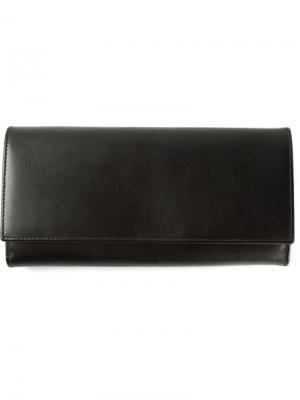 Кошельки и визитницы Comme Des Garçons Wallet. Цвет: чёрный