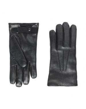 Перчатки 8 by YOOX. Цвет: черный