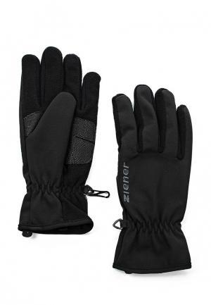 Перчатки Ziener IMPORT SM. Цвет: черный