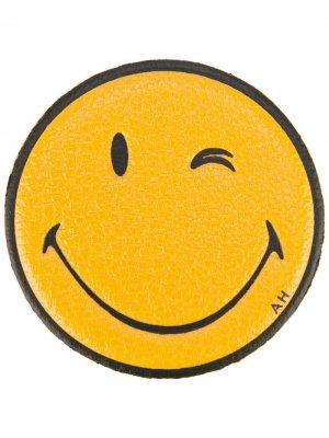 Стикер Wink Anya Hindmarch. Цвет: желтый