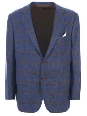 Пиджак из кашемира с принтом KITON