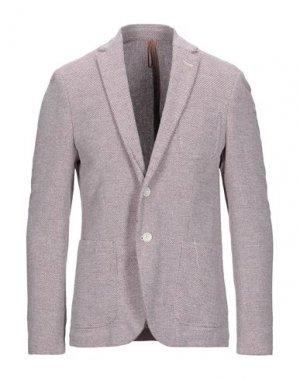 Пиджак BL.11 BLOCK ELEVEN. Цвет: красно-коричневый