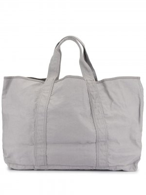 Большая сумка-шопер James Perse. Цвет: серый