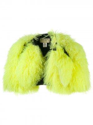 Укороченная куртка с рукавами три четверти Krizia Pre-Owned. Цвет: зеленый