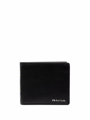 Бумажник с логотипом PS Paul Smith. Цвет: черный