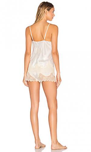 Набор короткая пижама mrs KISSKILL. Цвет: белый