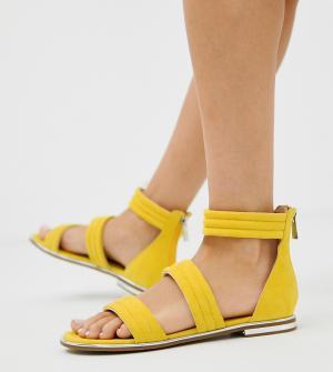 Сандалии с ремешками -Желтый Blink