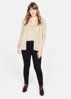 Рубашка со встроенным топом - Madison Mango. Цвет: коричневый средний