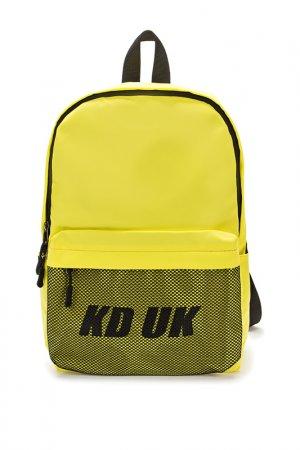Рюкзак Keddo. Цвет: желтый
