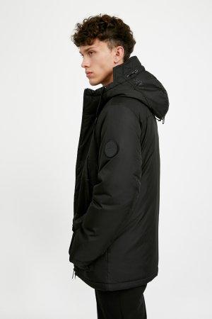 Куртка мужская Finn-Flare. Цвет: черный
