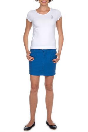 Юбка U.S. Polo Assn.. Цвет: 270 синий