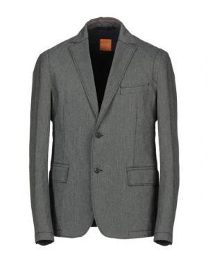 Пиджак BOSS HUGO. Цвет: стальной серый