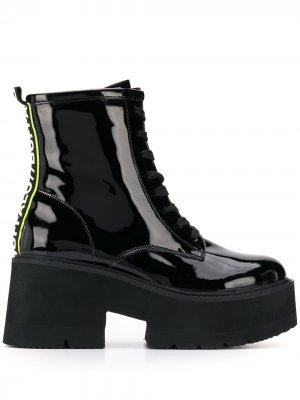 Ботинки Firoza Buffalo. Цвет: черный