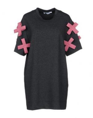 Короткое платье ANNA K. Цвет: стальной серый