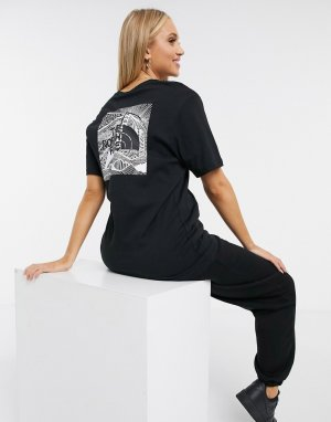 Черная футболка -Черный The North Face