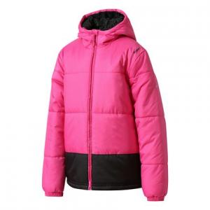 Куртка утепленная ES PAD JACKET Reebok. Цвет: charged pink / black