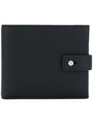 Бумажник East/West Saint Laurent. Цвет: черный