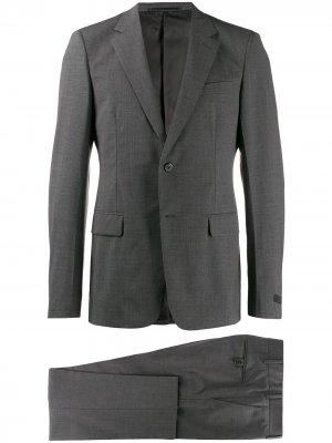 Строгий костюм Prada. Цвет: серый