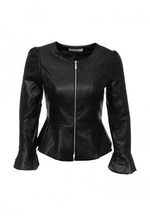 Куртка кожаная Rinascimento RI005EWHRD88. Цвет: черный