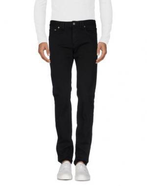 Джинсовые брюки GALLIANO. Цвет: черный