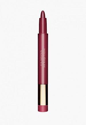 Помада Clarins -карандаш, Joli Rouge Crayon, 744C soft plum, 0.6 г. Цвет: розовый
