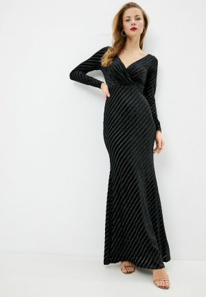 Платье Goddiva. Цвет: черный