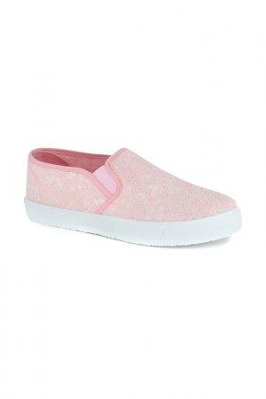 Слипоны HCS. Цвет: розовый