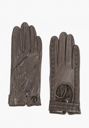Перчатки Lantana. Цвет: серый