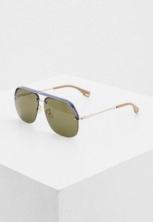 Очки солнцезащитные Fendi FF M0095/G/S B88. Цвет: разноцветный