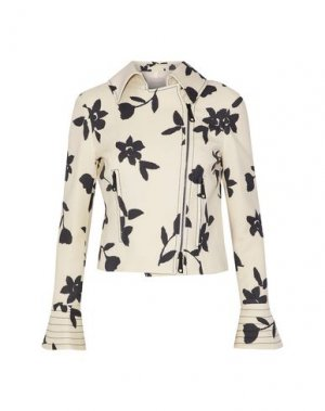 Куртка CAROLINA HERRERA. Цвет: слоновая кость