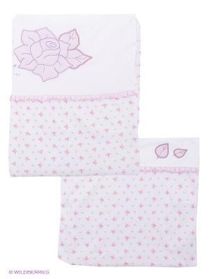 Комплект Ewa. Цвет: белый, розовый